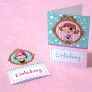 Pink Pirates® Mini-Einladungskarten